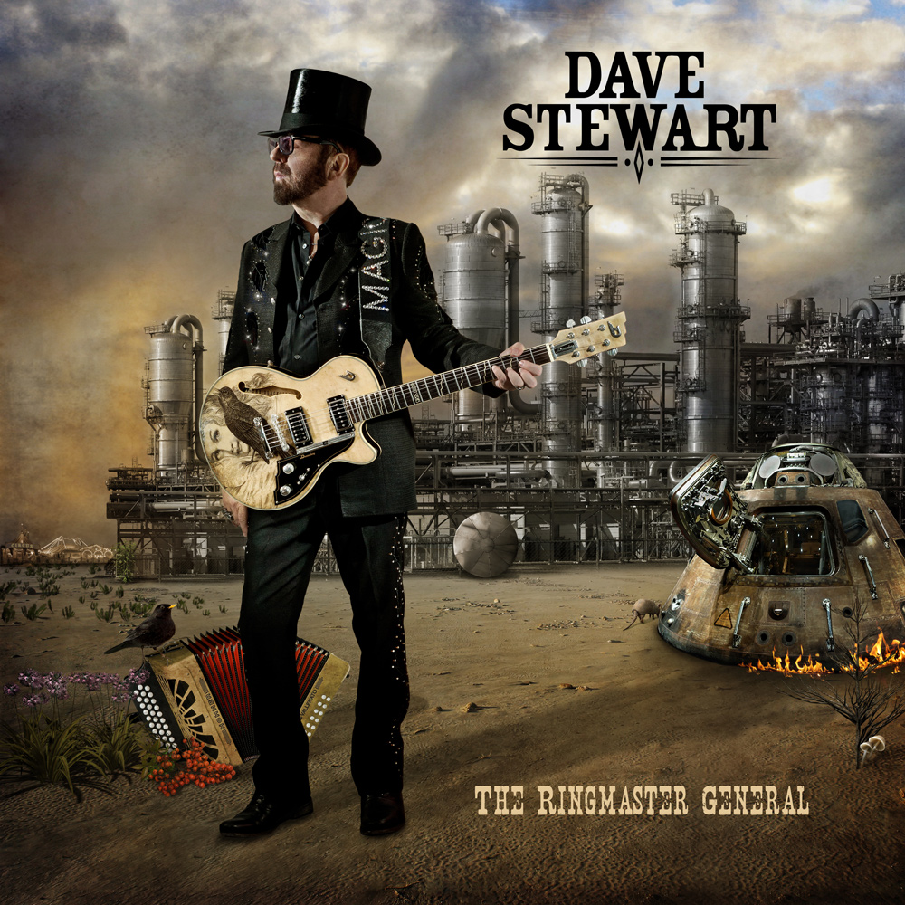 "Dave Stewart's ""The Ringmaster General"" available September 4th!!"
